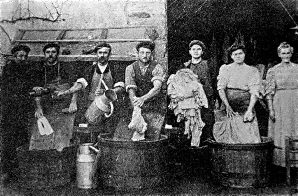 Grandes Blanchisseries De Pantin4 Zacatek Let 1900, foto  Elis Textil Servis s. r. o.