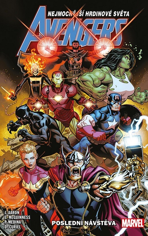 Avengers The Final Host Cover