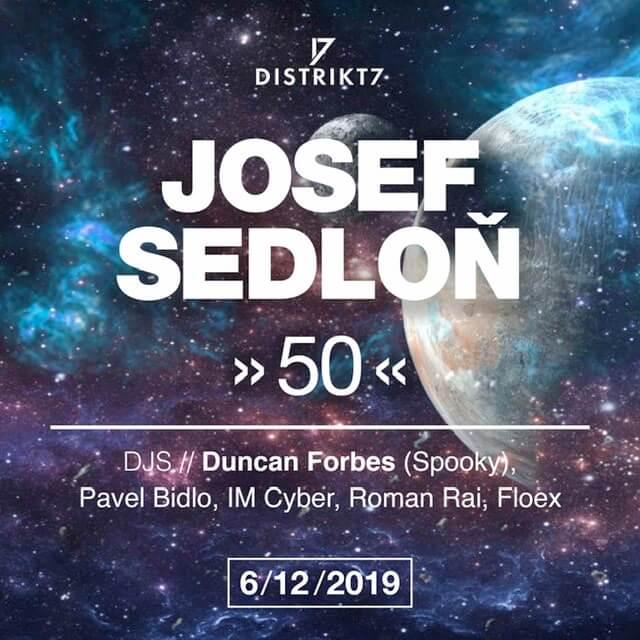 Josef Sedloň Slaví 50
