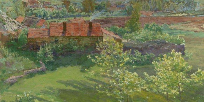 Antonín Slavíček, Červnový Den, 1898–1899, NGP