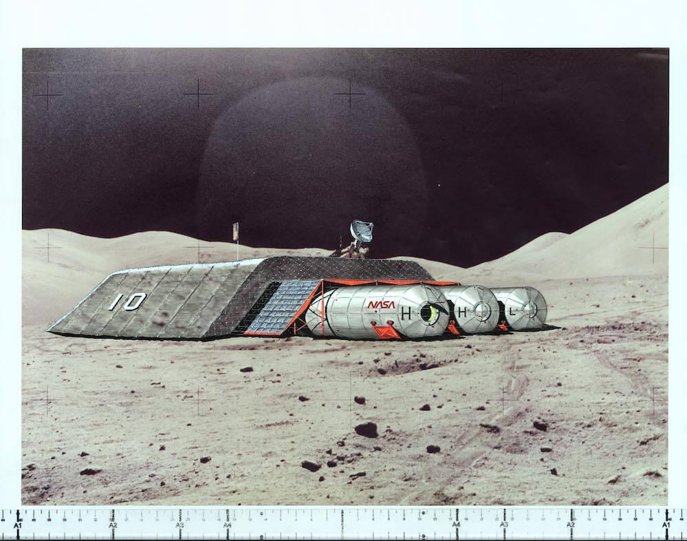 Jan Kaplický a Future Systems - Lunar Base, SPACE_art, design, architecture and science - foto Kvalitář