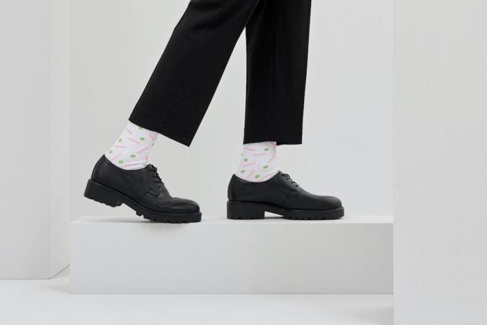 We Are Ferdinand Vytvořili Ponožky S Maximem Velčovským, Pavlem Fuksou I Motivem Pařížského Salátu