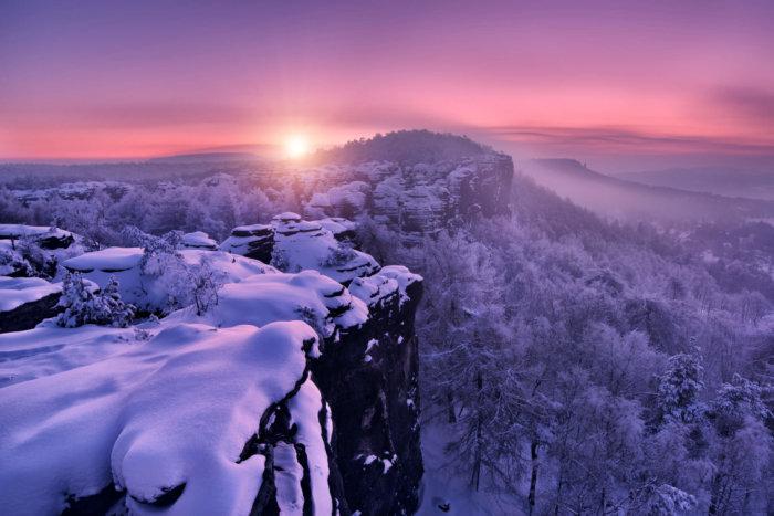 Využijte Zimní Kulisy Pro Vytvoření Dokonalých Fotek