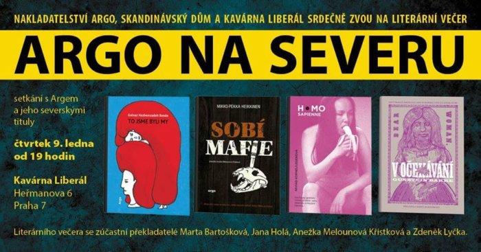 Argo Na Severu Aneb Literární Večer S Argem A Jeho Severskými Tituly