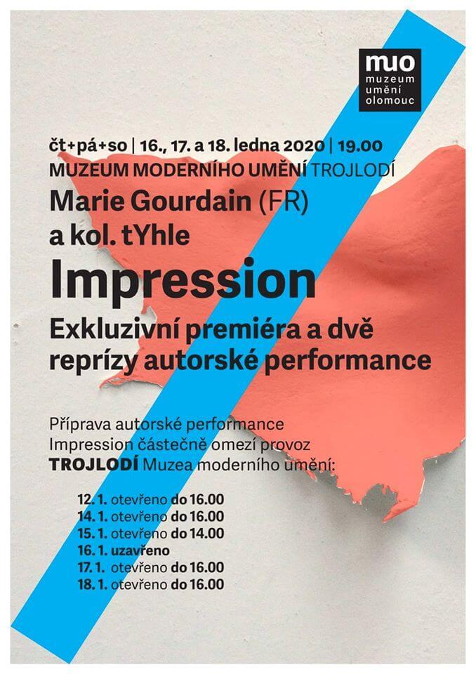 Impression: Francouzská Performance Mezi Grafikami Muzea Umění