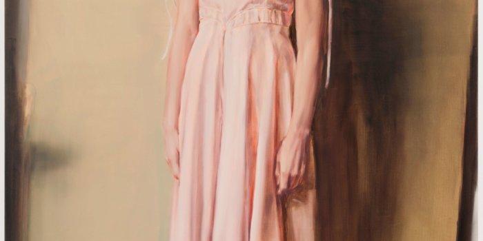 Michaël Borremans, The Angel, 2013, Oil On Canvas, 300 X 200 Cm, Courtesy Zeno X Gallery, Antwerp, Photo Peter Cox, Courtesy Zeno X Gallery, Antwerp, Foto Rudolfinum