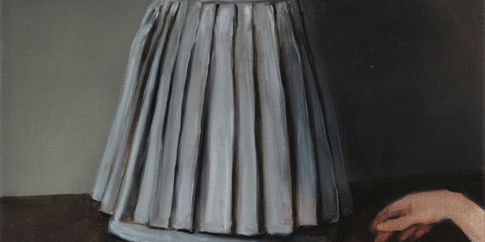 Michaël Borremans The Skirt (2) 2005 Private Collection Photographer: Peter Cox
