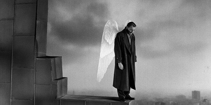 Z Filmu Nebe Nad Berlínem, Foto Wim Wenders Stiftung