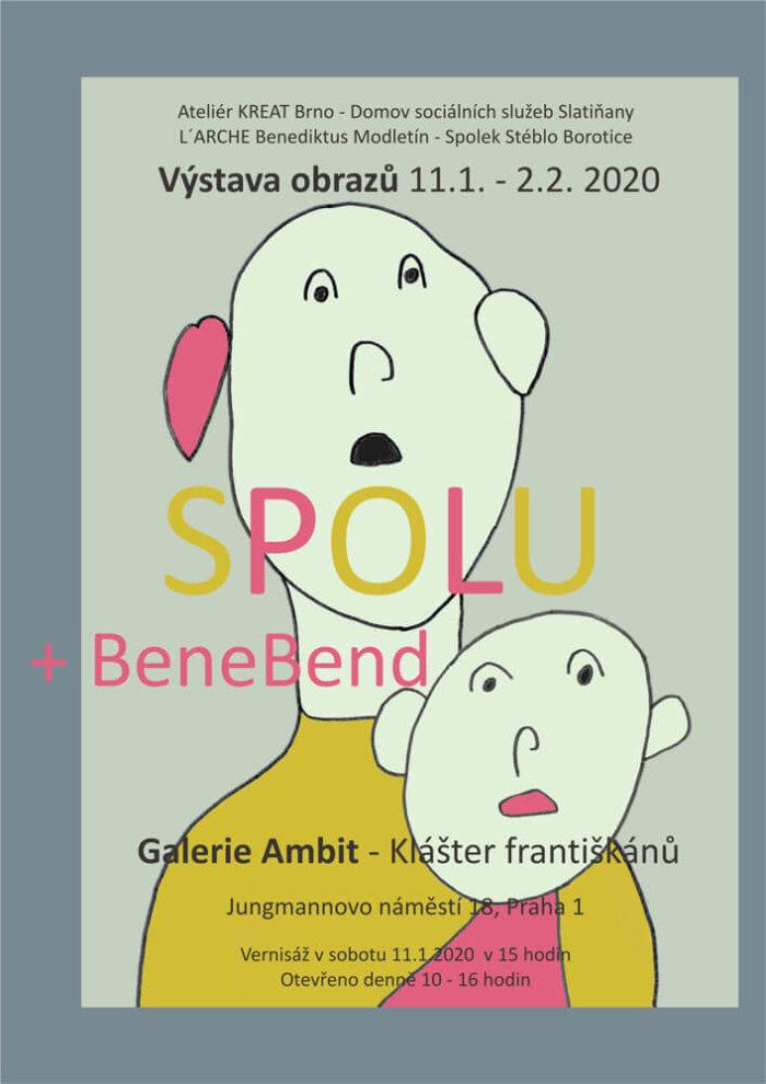 Galerie Ambit Hostí Výstavu Obrazů SPOLU