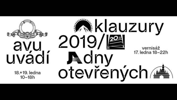 Dny Otevřených Dveří Na AVU – Zimní Klauzury 2019/2020