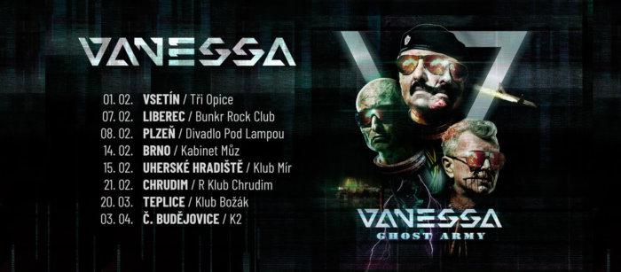 Legendární Vanessa Vydává Novou Desku Ghost Army A Vyráží Na Tour
