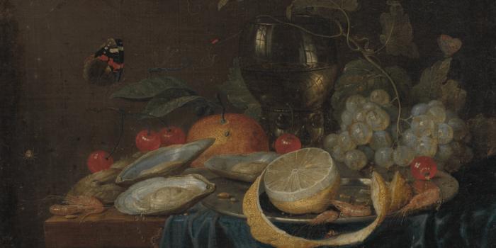 Jan Van Kessel, Zátiší S Citronem, 1655, Zdroj MUO