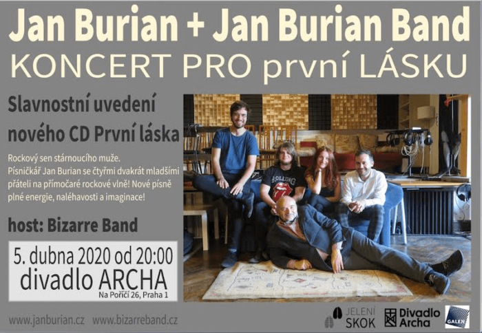 Jan Burian Vydá Novinku