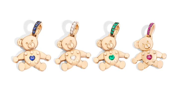 ORSETTO Pendants In Rose Gold And Precious Stones By Pomellato