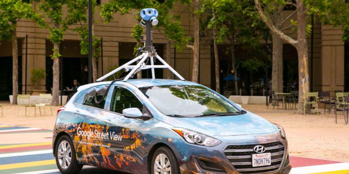 Street View Car 2017