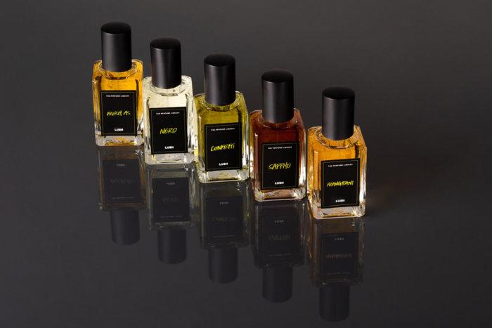 Lush Perfume Library Zavítala I K Nám: Kolekce Parfémů Z Florencie
