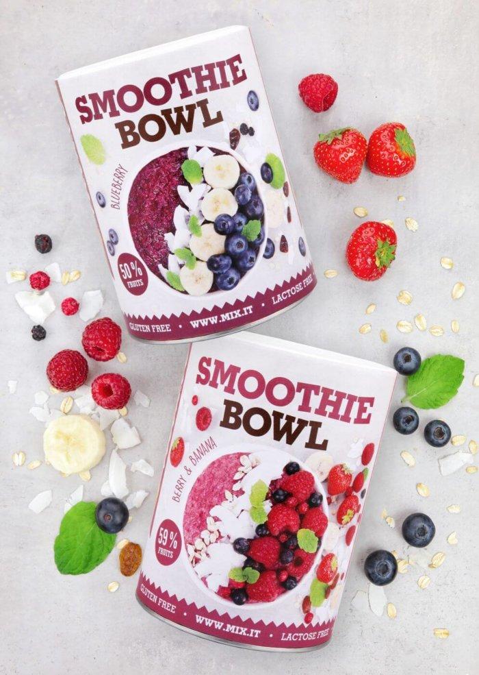 Smoothie Bowl Od Mixit Je Kaše Napěchovaná Ovocem