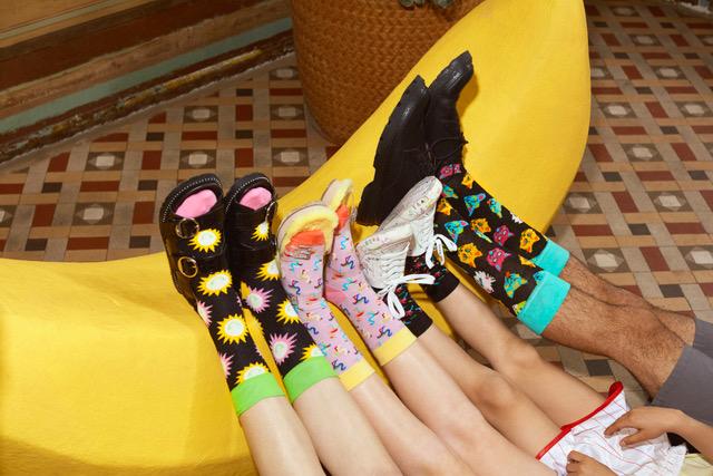 Každý Den V Tropickém Ráji S Happy Socks