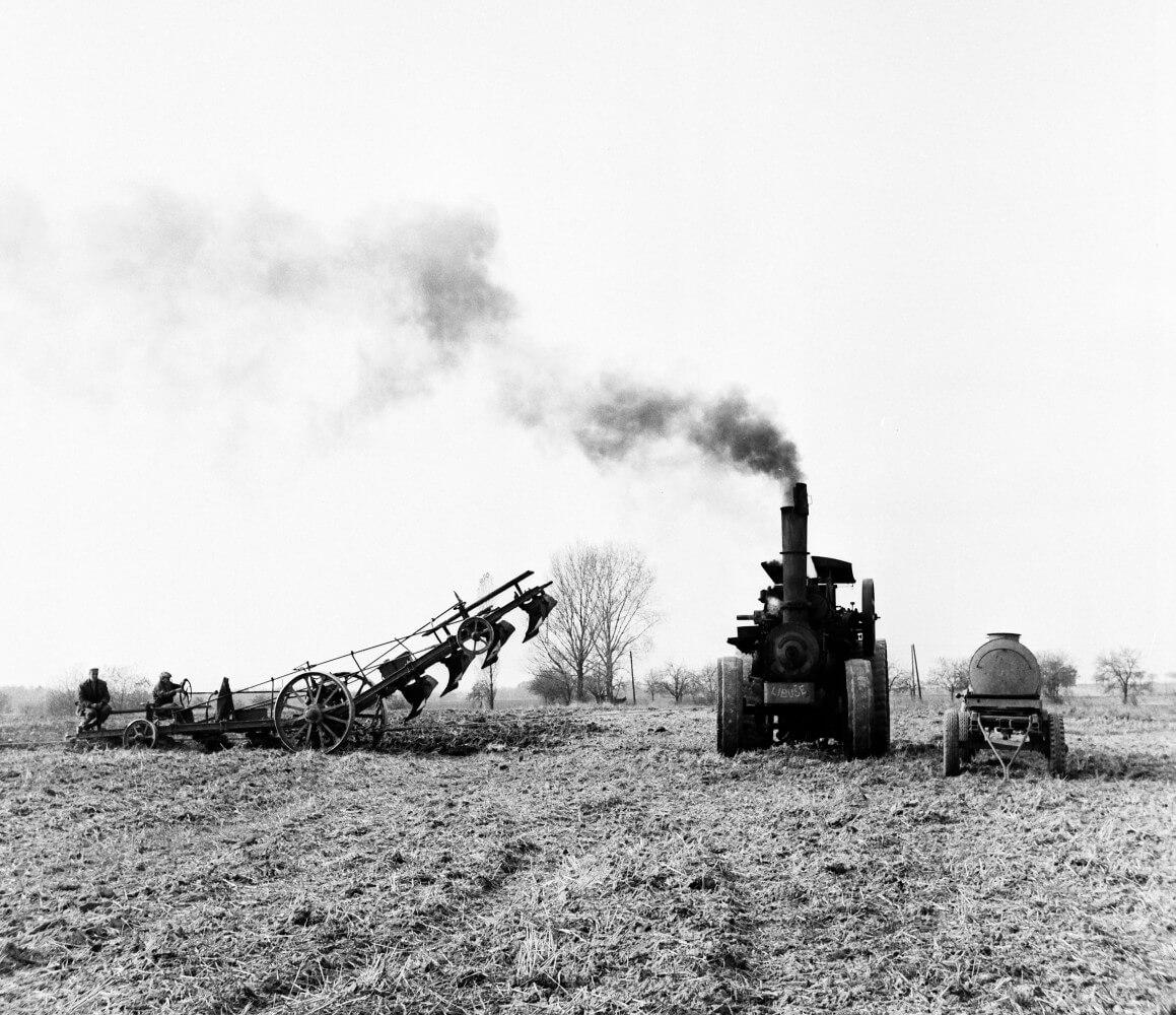 parní oračka Libuše, foto Zdeněk Tempír, archiv Národního zemědělského muzea