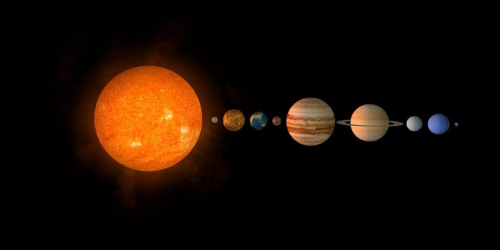 Solar System. Image By Валера Шумский From Pixabay