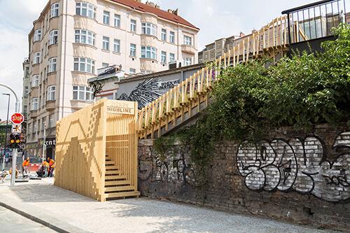 Žižkovská Highline / Foto: Jiří Straka