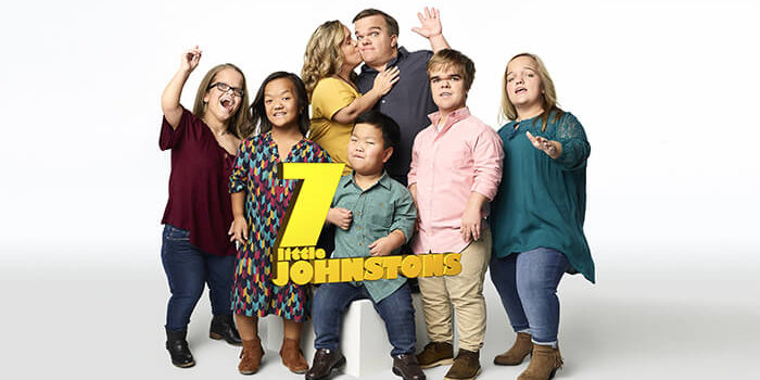 Studio Portraits Of The 7 Little Johnstons Family Form The TLC Brand 2017 Photo Shoot.
