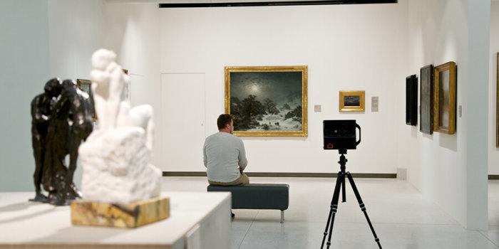 Národní Galerie Praha_snímání Prohlídky