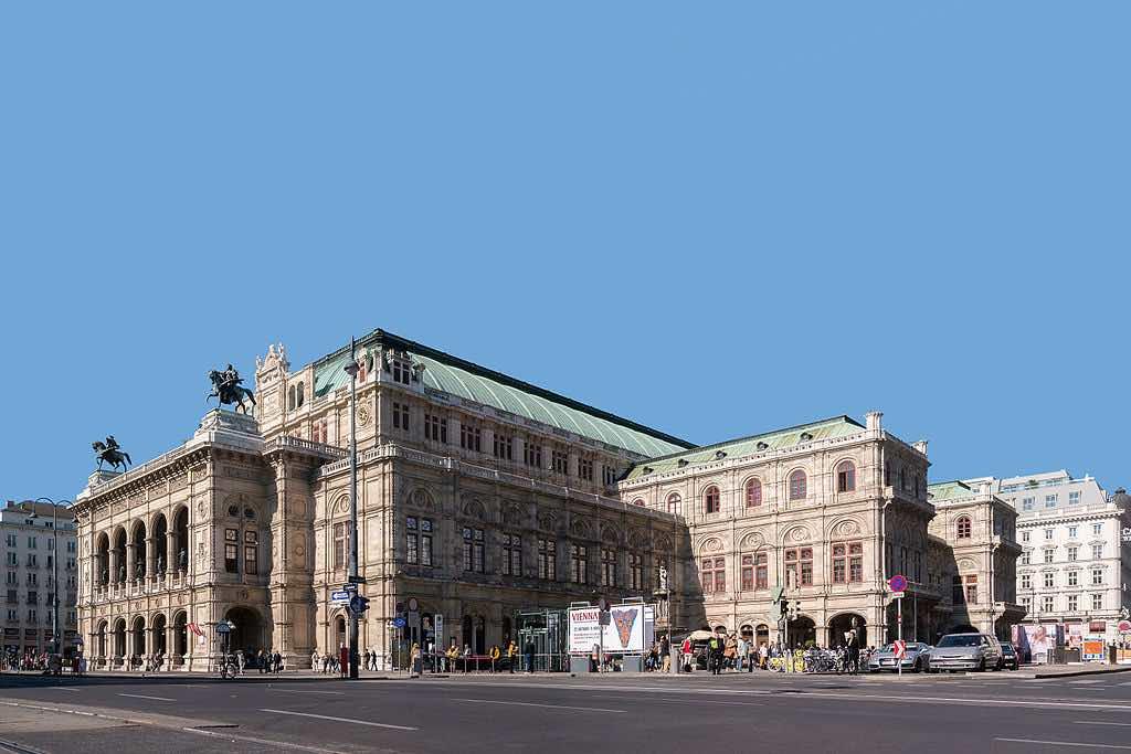 Vídeňská opera. Ilustrační foto. <a href=