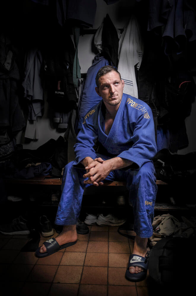 Lukas Krpalek, Olympic Judo Champion and former World Champion. Photo by Simon Hilton