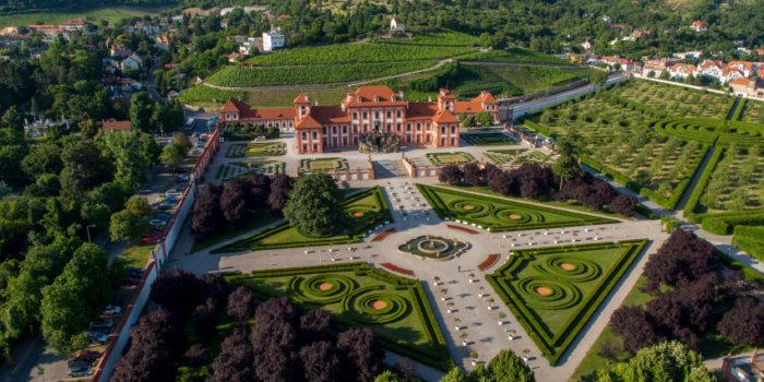 Letecký Pohled Na Zámeckou Zahradu_GHMP