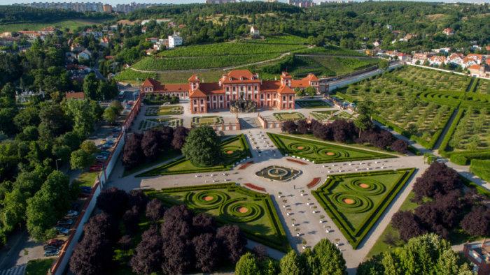 Víkend Otevřených Zahrad V Zámku Troja