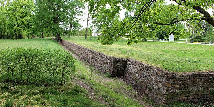 Zeď Ha-ha Po Rekonstrukci_Foto: Národní Zemědělské Muzeum