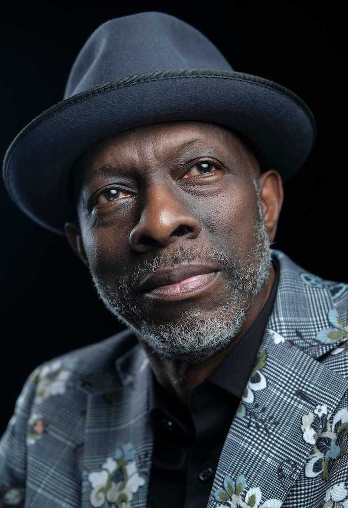 Five times Grammy winner. The America Blues musician KEB MO. Taken backstage in Prague  (shot for British press promo)