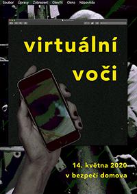 Virtuální Voči Plakát A3