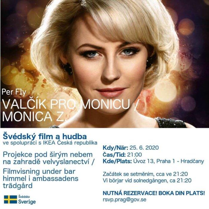 Švédské Velvyslanectví V Praze Pořádá Filmová Promítání Pod širým Nebem