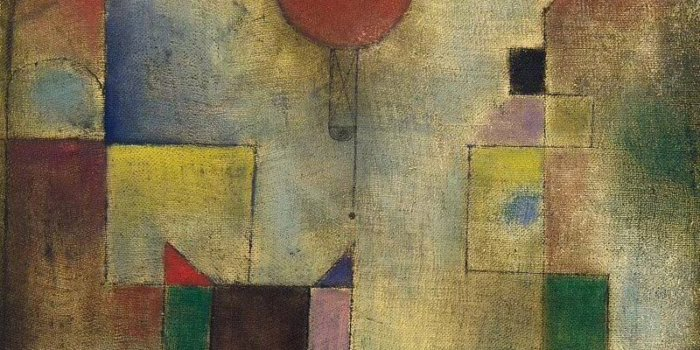 Roter Baloon (Paul Klee, 1922, Red Balloon, Oil On Chalk-primed Gauze, Mounted On Board, 31.7 X 31.1 Cm, Solomon R. Guggenheim Museum)