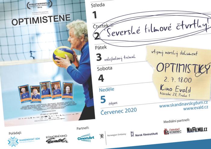 Tip Na Kino: Dokument O Volejbalovém Týmu Norských Seniorek