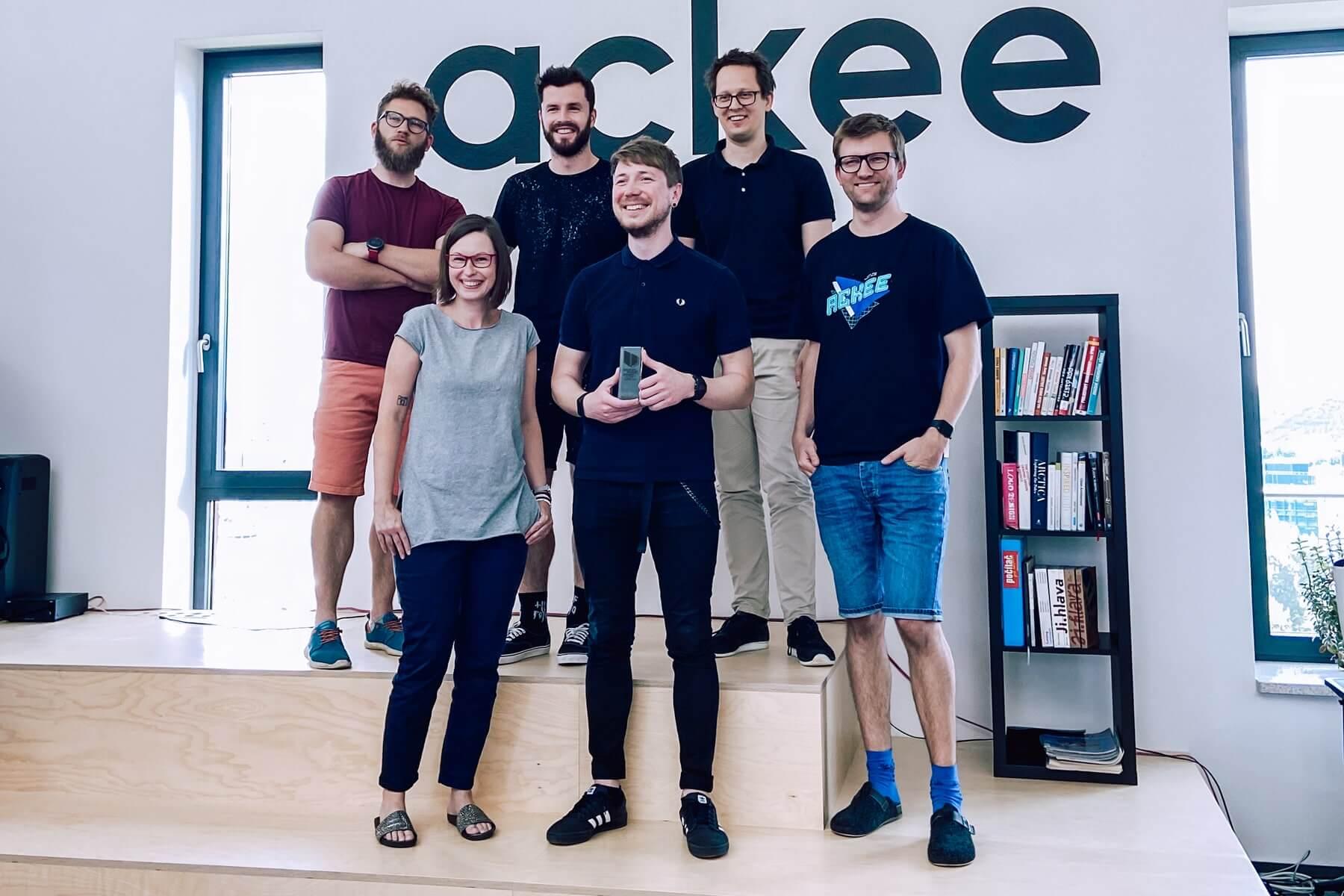 Bundestag Team @Ackee s German Brand Award ©Ackee
