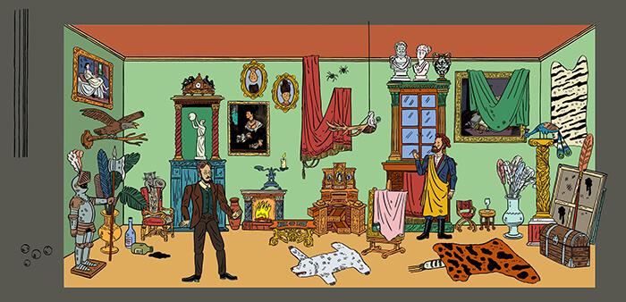 Ilustrace Makart Alexey Klyuykov