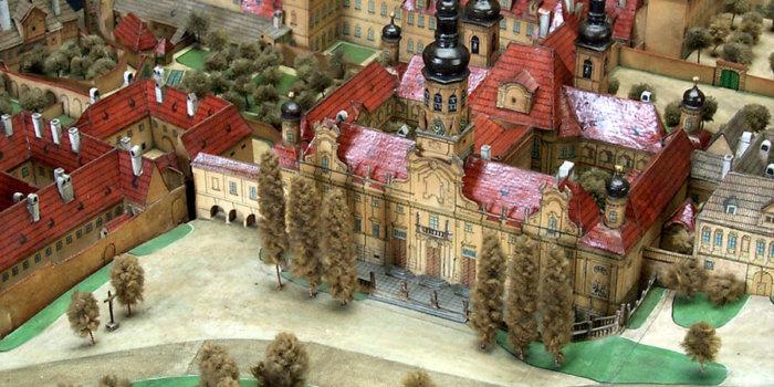 Langweilův Model ©Muzeum Hlavního Města Prahy
