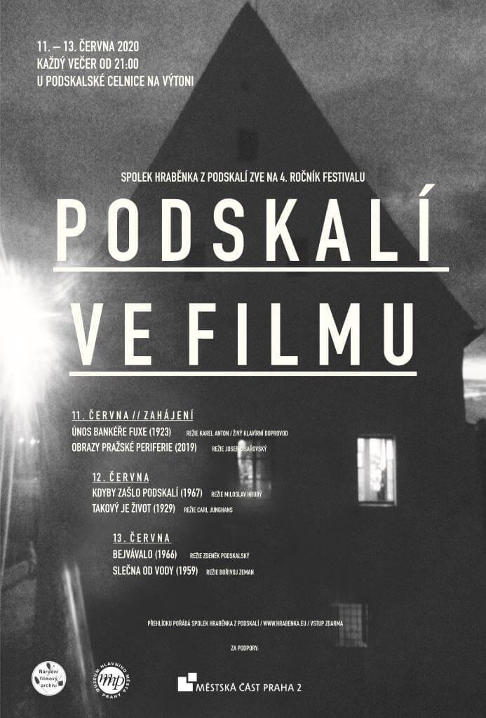 Čtvrtý Ročník Komorního Festivalu Podskalí Ve Filmu Proběhne V červnu