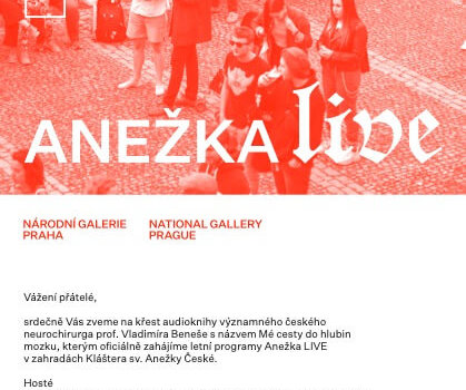 Pozvanka Anežka LIVE