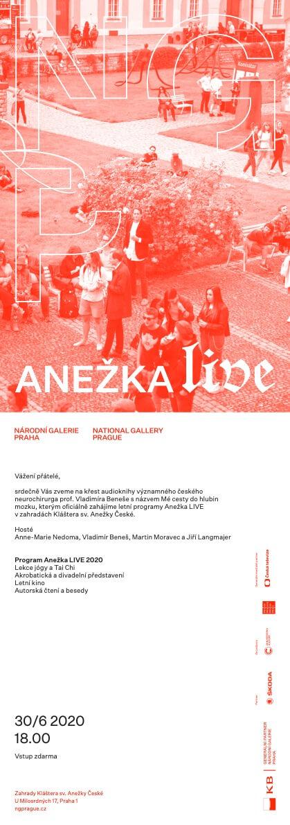 Národní Galerie Praha Zahajuje Letní Program S Názvem Anežka LIVE