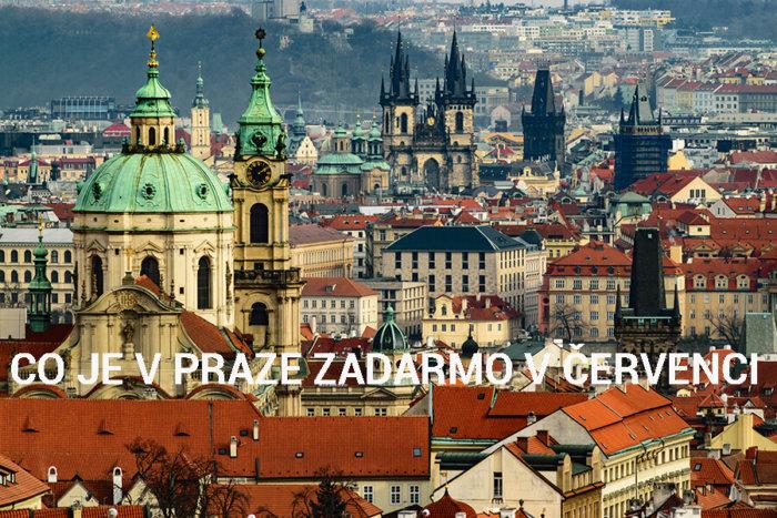 Co Je V Praze Zadarmo V červenci 2020