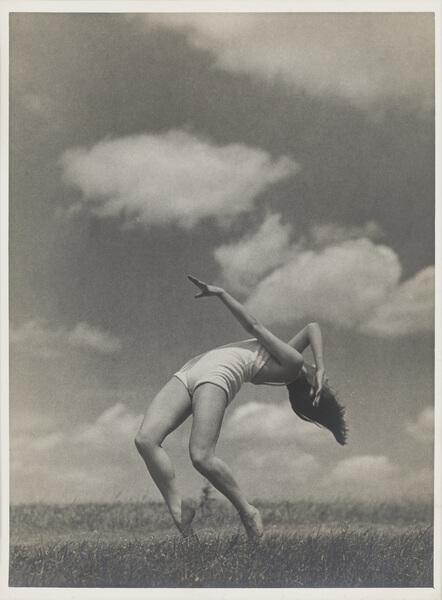Josef Sudek, H. Kavalírová – Barrandov I, 1934, bromostříbrná fotografie, Uměleckoprůmyslové museum v Praze