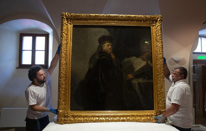 Národní Galerie Praha Chystá Výstavu Rembrandt: Portrét člověka