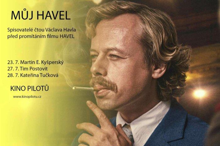 Tři Spisovatelé Budou číst Václava Havla