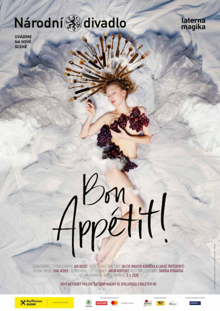 Balet Národního Divadla A Laterna Magika Se Potkávají V Taneční Inscenaci Bon Appétit!