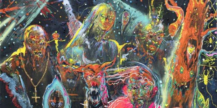 Full Moon, 185x200 Cm, Akryl Na Plátně , 2020