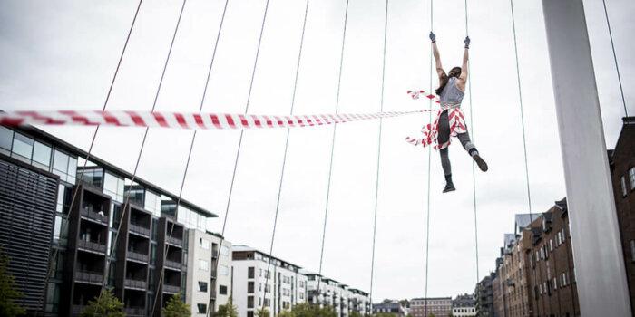 Performance Hang Out Elišky Brtnické_Foto: Vojtěch Brtnický